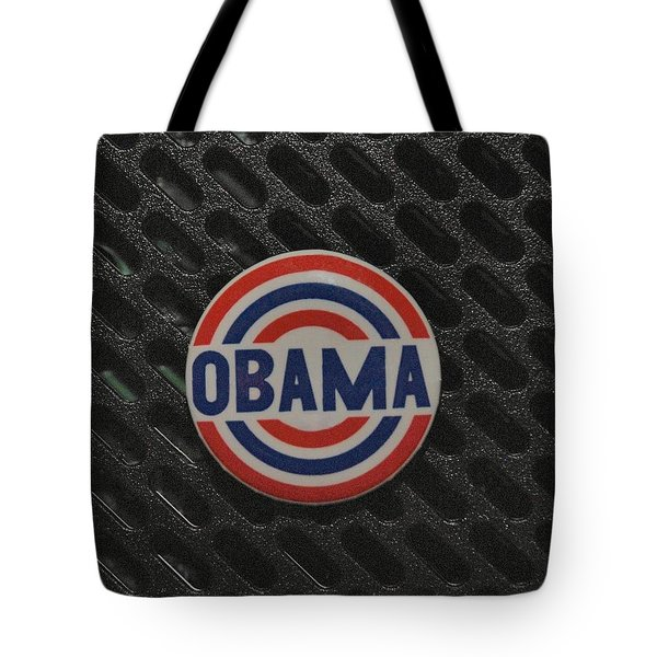 Obama Tote Bag by Rob Hans