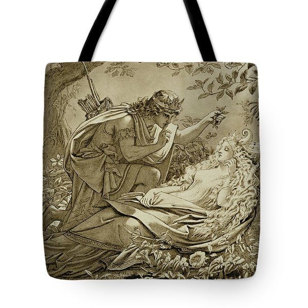 Oberon And Titania Tote Bag by English School