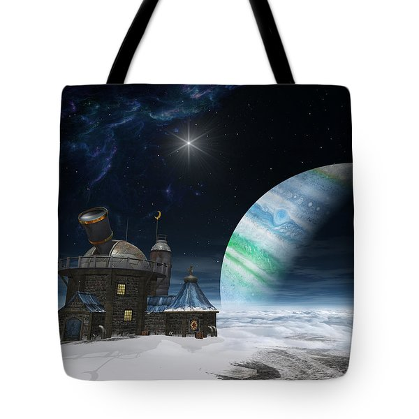 Observatory Tote Bag by Cynthia Decker
