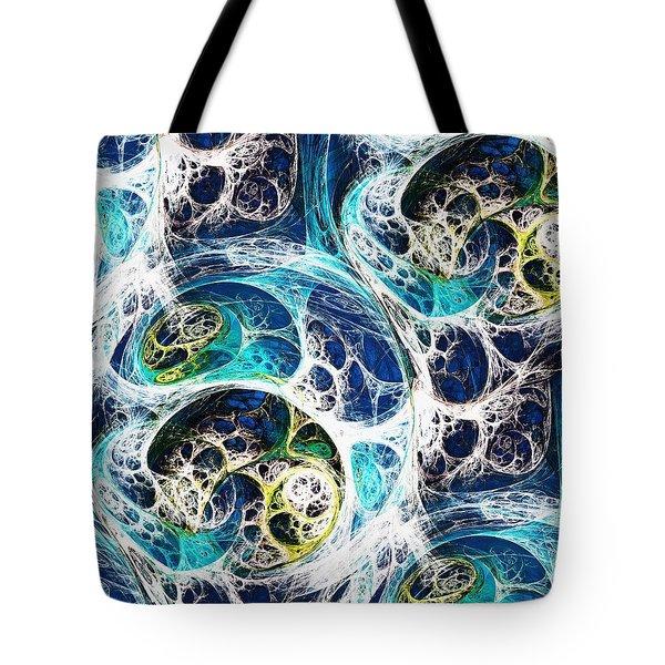 Ocean Tote Bag by Anastasiya Malakhova