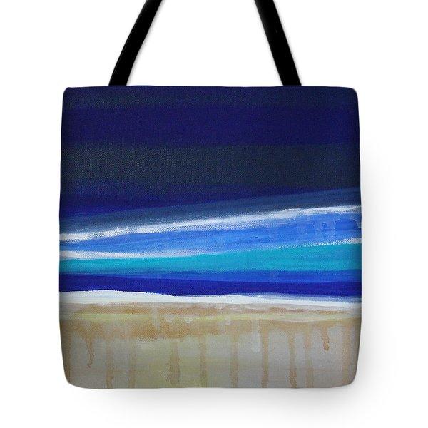 Ocean Blue Tote Bag by Linda Woods