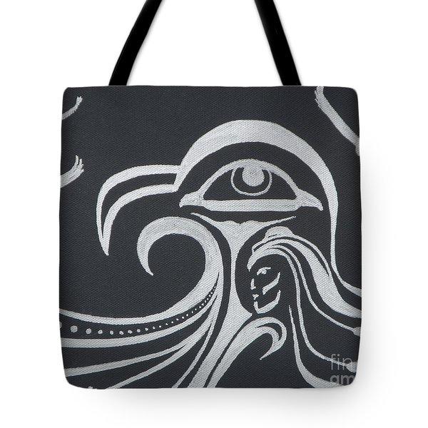 Ocean Eagle Eye Tote Bag by A Cyaltsa Finkbonner