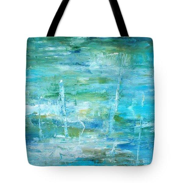 Ocean I Tote Bag by Tia Marie McDermid