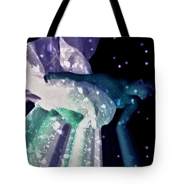 Ocean Of Emptiness Tote Bag by Jessica Shelton