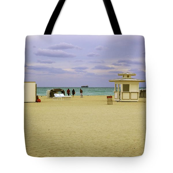 Ocean View 3 - Miami Beach - Florida Tote Bag by Madeline Ellis