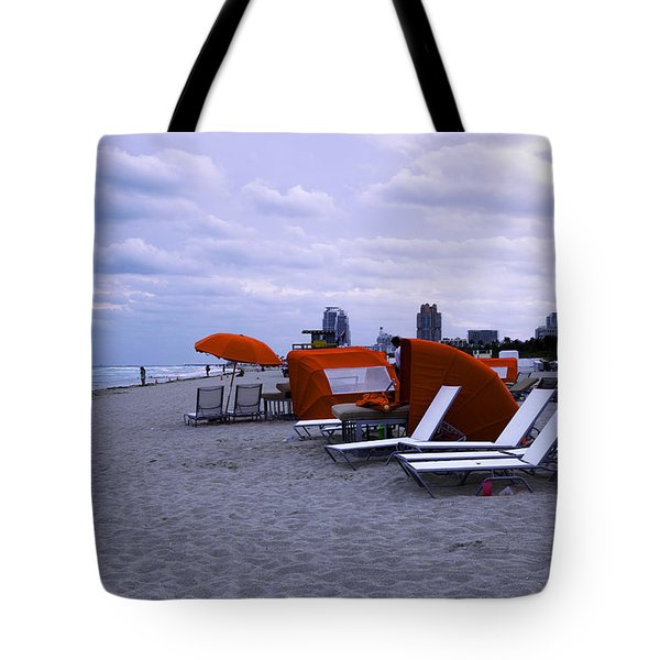 Ocean View 6 - Miami Beach - Florida Tote Bag by Madeline Ellis