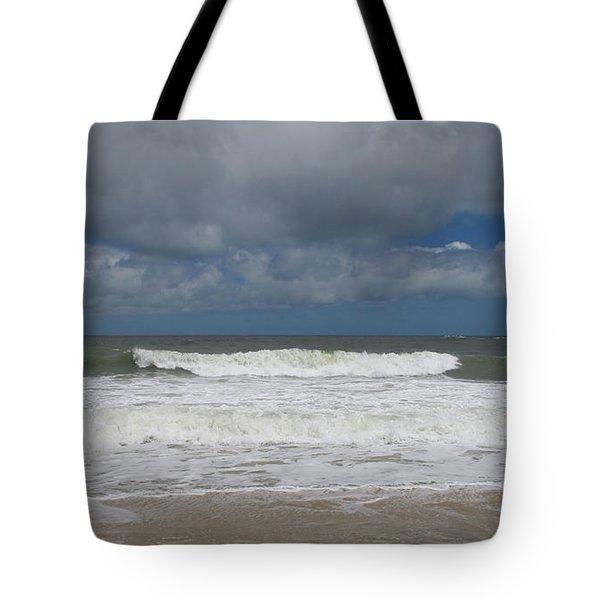 Ocean Wave Tote Bag by Arlene Carmel
