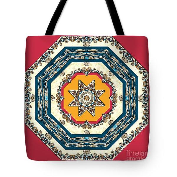 Ocean Waves - Mandakal 04cm22a Tote Bag by Aimelle
