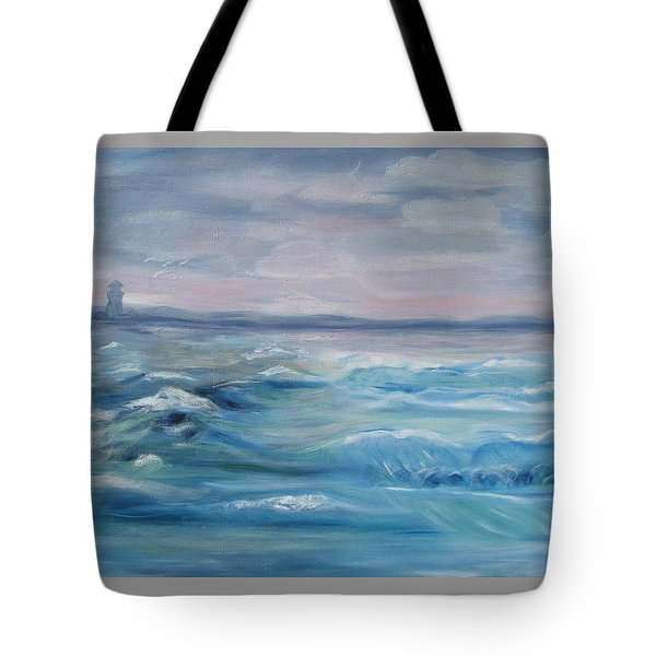 Oceans Of Color Tote Bag by Diane Pape