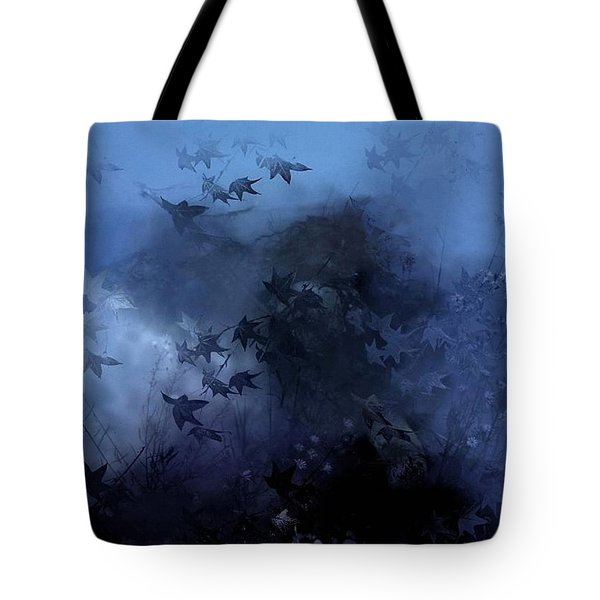 October Blues Tote Bag by Gun Legler