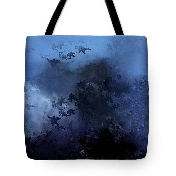 October blues Tote Bag by Gun Legler