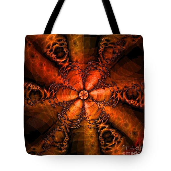October Tote Bag by Elizabeth McTaggart