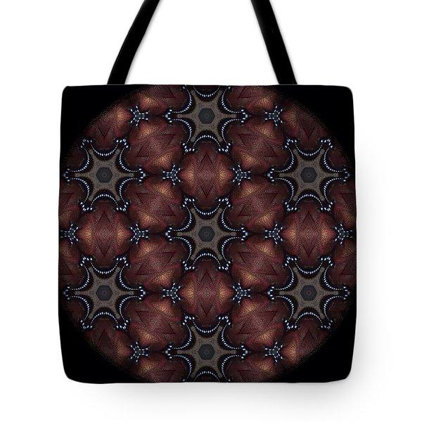 Octopus Mandala Tote Bag by Karen Buford