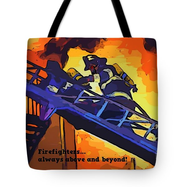 Ode To Our Heros Tote Bag by John Malone