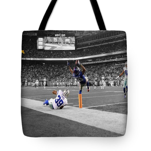 Odell Beckham Breaking The Internet Tote Bag by Brian Reaves