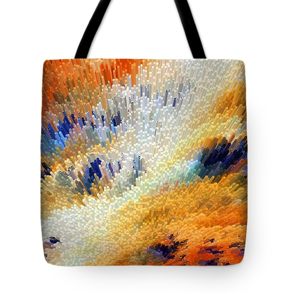 Odyssey - Abstract Art by Sharon Cummings Tote Bag by Sharon Cummings
