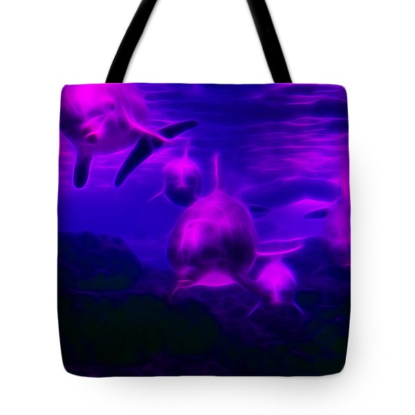 Odyssey V1 Tote Bag by Wingsdomain Art and Photography