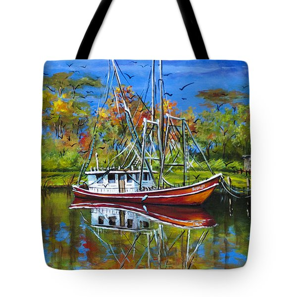 Off Season Tote Bag by Dianne Parks