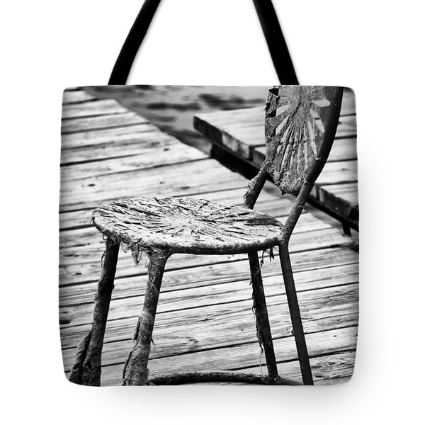 Off-Season Grunge Tote Bag by Christi Kraft