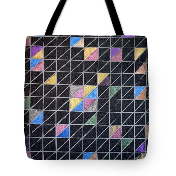 Off The Grid Tote Bag by Donna Blackhall