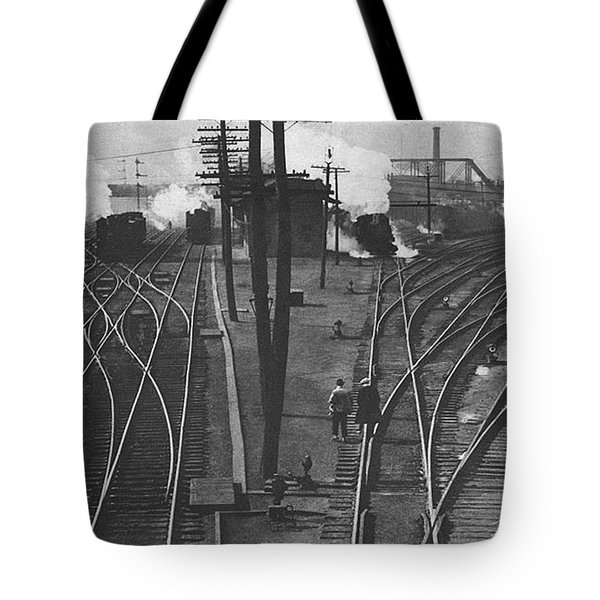 Off To Work Tote Bag by J D Owen