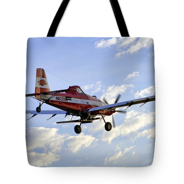 Off to Work Tote Bag by Jason Politte
