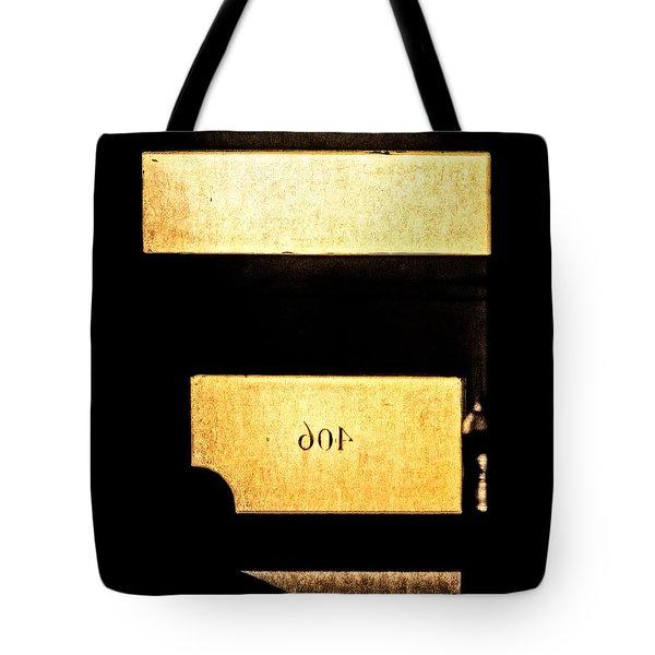 Office 406 Tote Bag by Bob Orsillo