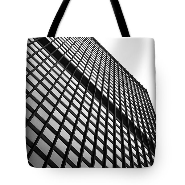 Office Building Facade Tote Bag by Valentino Visentini