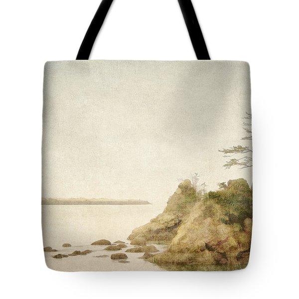 Offshore Rocks Oregon Coast Tote Bag by Carol Leigh