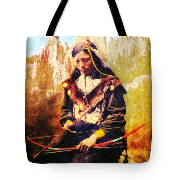Oglala Homeland Tote Bag by Lianne Schneider