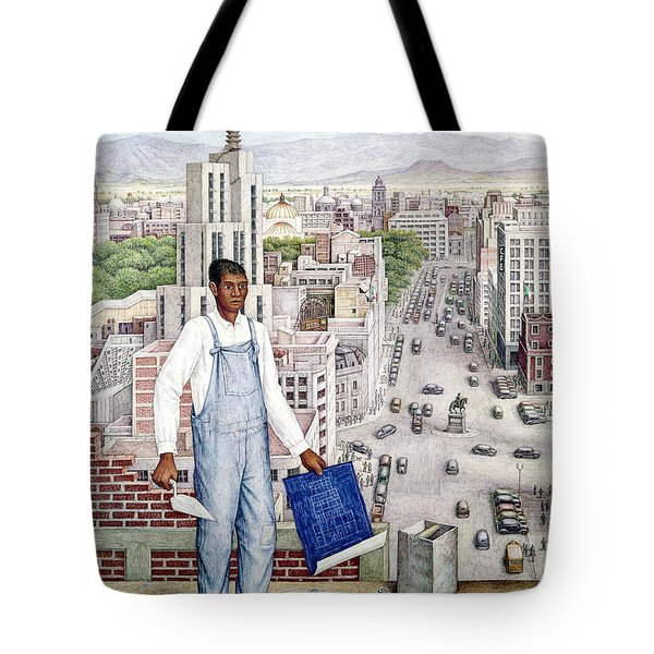 Ogorman: City Of Mexico Tote Bag by Granger