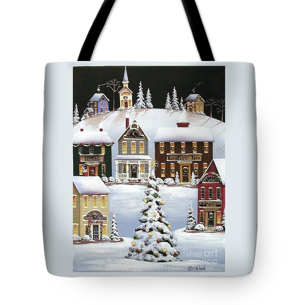 Oh Christmas Tree Tote Bag by Catherine Holman