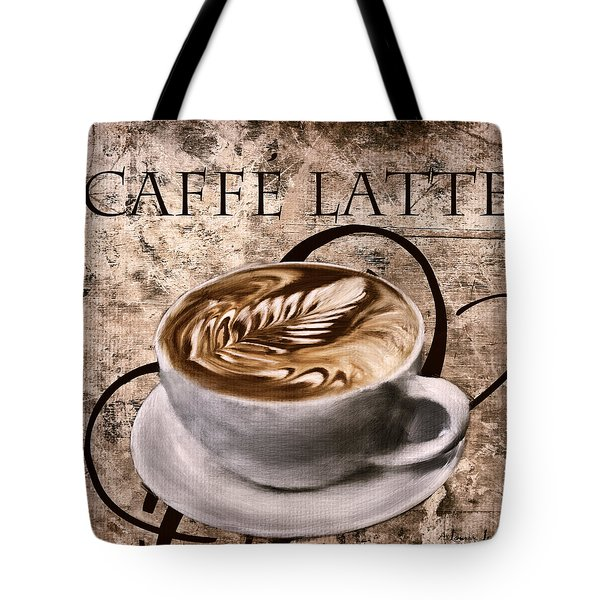 Oh My Latte Tote Bag by Lourry Legarde