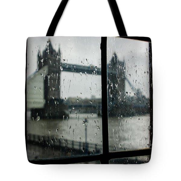 Oh So London Tote Bag by Georgia Mizuleva