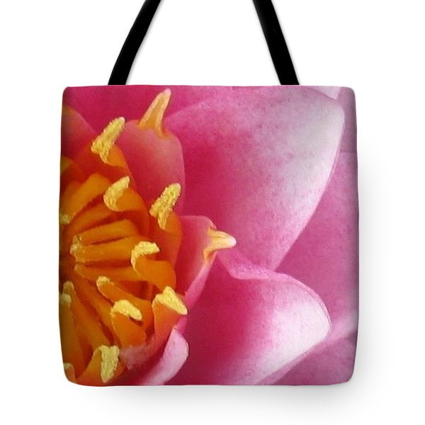Okeefe Lily Blossom Tote Bag by Debbie Finley