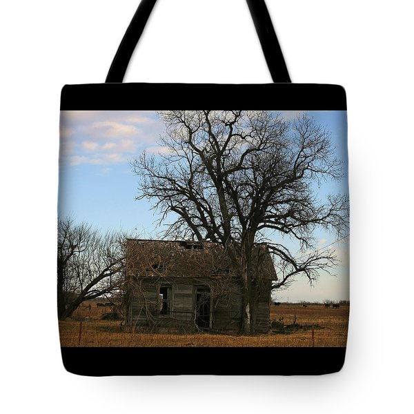 Oklahoma Shack Tote Bag by Ellen Henneke