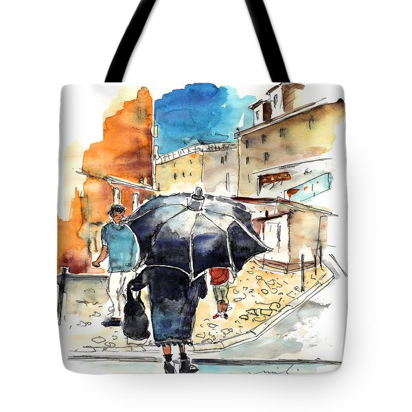 Old And Lonely In Portugal 03 Tote Bag by Miki De Goodaboom