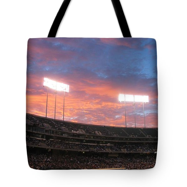 Old Ball Game Tote Bag by Photographic Arts And Design Studio
