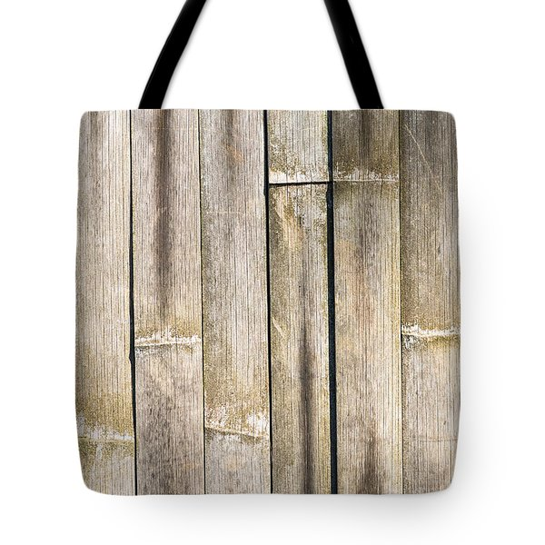 Old Bamboo Fence Tote Bag by Alexander Senin