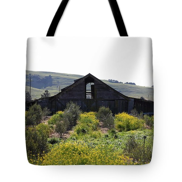 Old Barn in Sonoma California 5D22235 Tote Bag by Wingsdomain Art and Photography