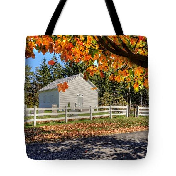 Old Bethel Church 1842 Tote Bag by Dan Friend