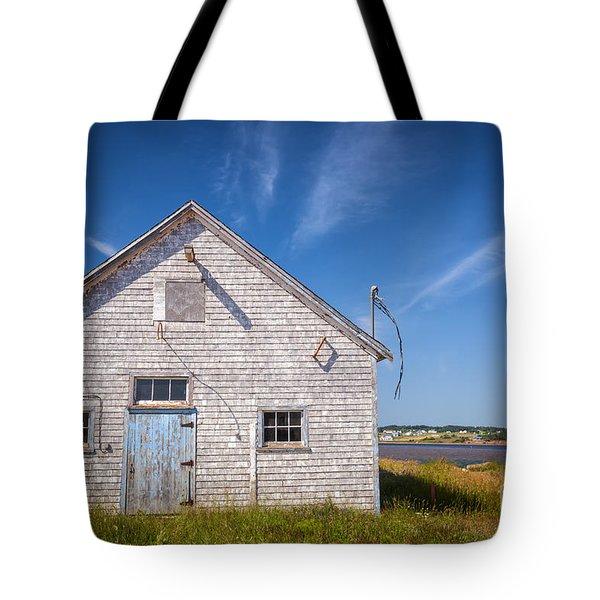 Old Building In North Rustico Tote Bag by Elena Elisseeva