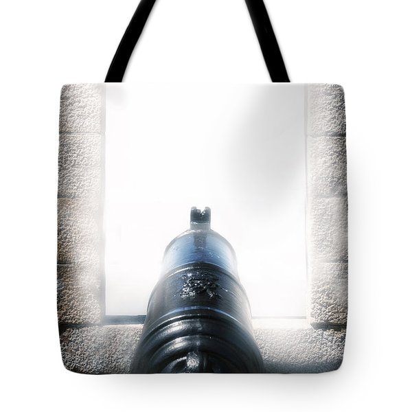 Old Cannon Tote Bag by Joana Kruse