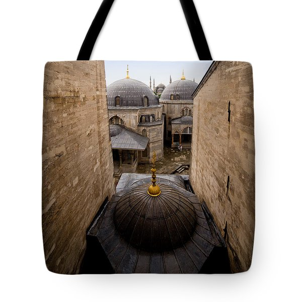Old City Of Istanbul Tote Bag by Artur Bogacki