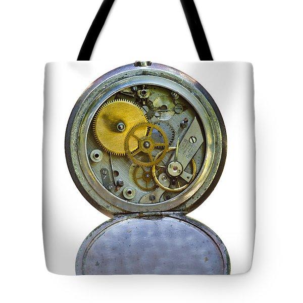 Old Clock Tote Bag by Michal Boubin