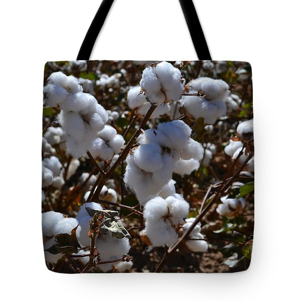 Old Cotton Fields Back Home Tote Bag by Beverly Guilliams