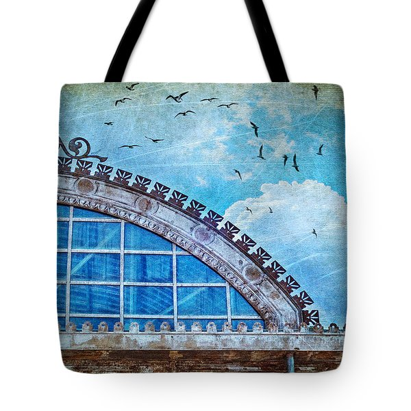 Old Deposit Detail Tote Bag by Silvia Ganora