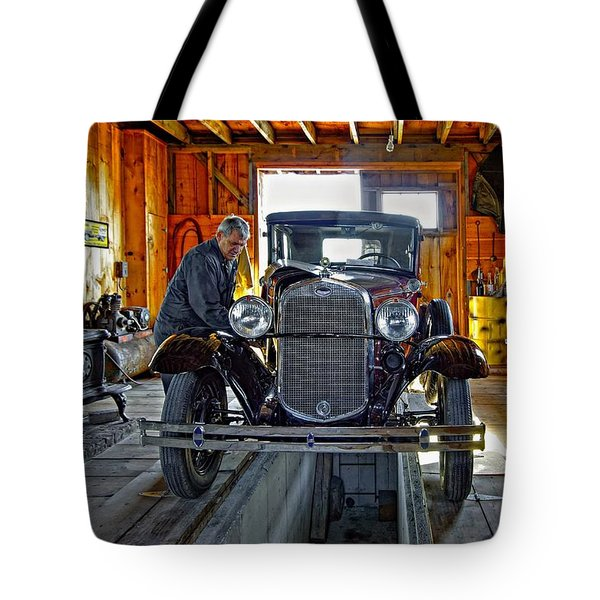 Old Fashioned Tlc Tote Bag by Steve Harrington