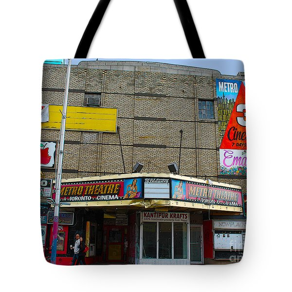 Old Film Theatre In Decay Tote Bag by Nina Silver