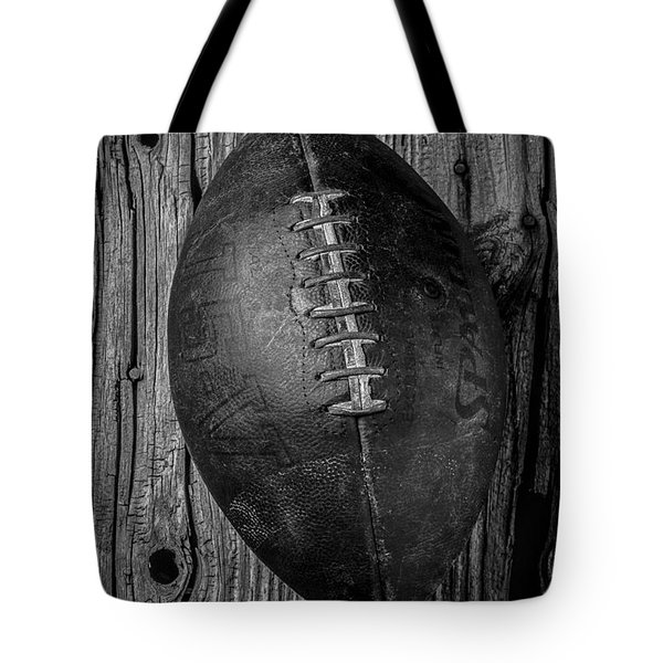 Old Football Tote Bag by Garry Gay